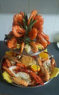 Plateau Fruits de mers Restaurant Histoire de Goût à Fully