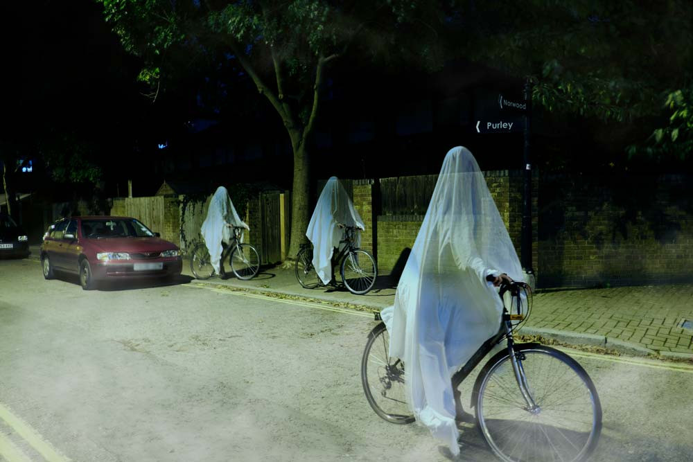 Ghosts on Bikes