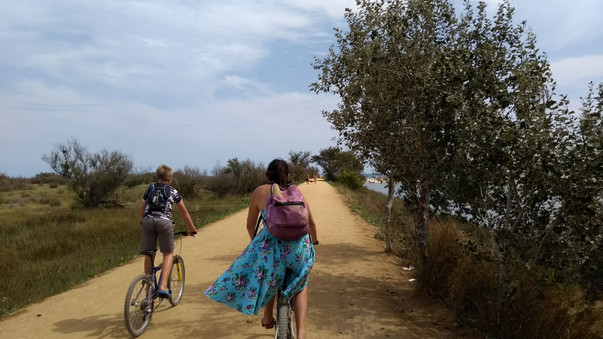 Family Cycling in L'Estartit, Spain