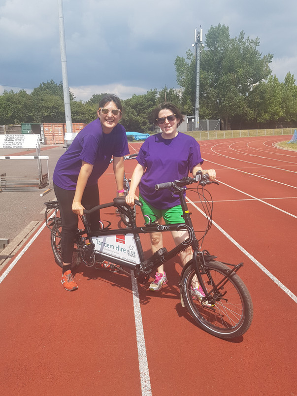 Tandem Training with Wheels for Wellbeing