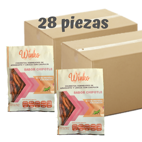 Churritos sabor chipotle | 28 PIEZAS | Envío GRATIS