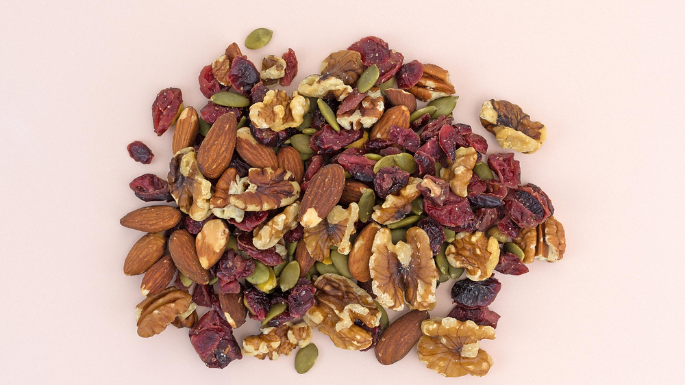 trail mix with chapulines