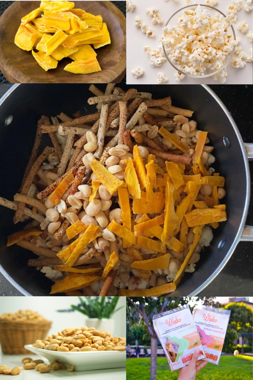 Ingredientes para rosca de chamoy