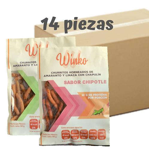Churritos combinados | 14 PIEZAS