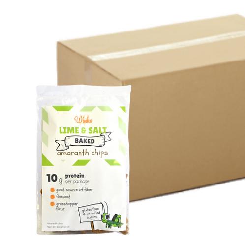 50 pieces box - lime & salt