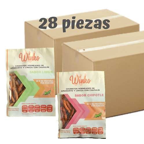 Churritos combinados | 28 PIEZAS | Envío GRATIS