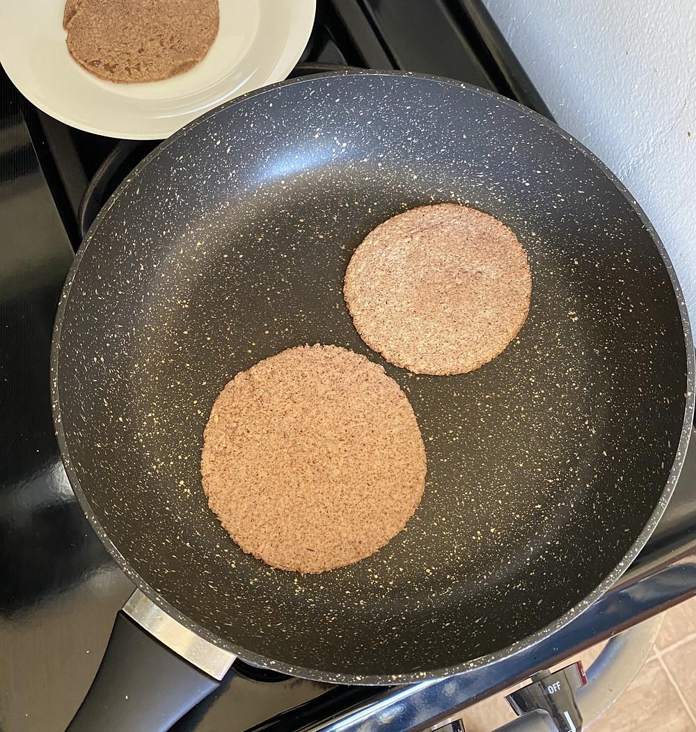 Tortillas con harina de chapulín