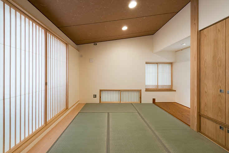松澤静男ー参道の家