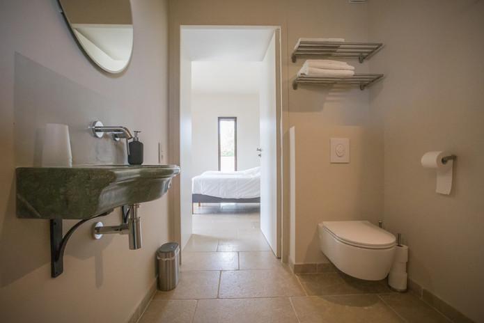 Les salles de bains de l'Atrium d'Argilliers