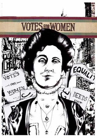 Suffragette Illustration