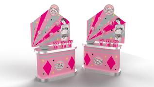 Soap and Glory Display Render