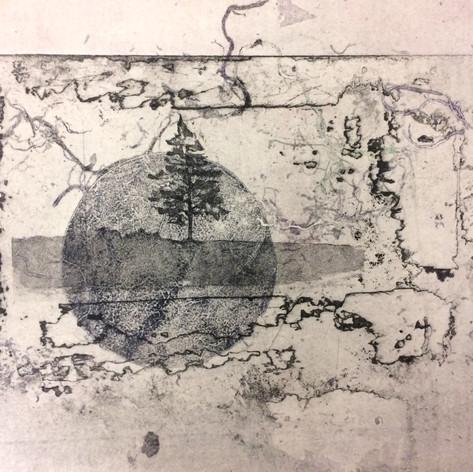 Tree, Earth, Moon V