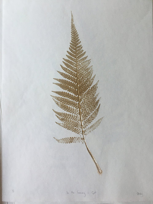 In the Fernery (Gold)