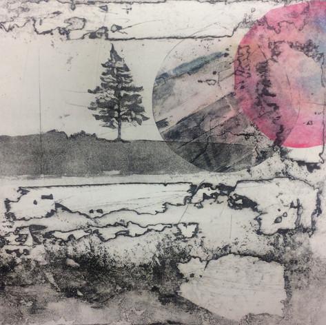 Tree, Earth, Moon IV