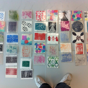 Collaboration Print Project with UCH Hospital School