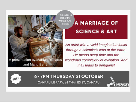 21.10.21 Public talk: A MARRIAGE OF SCIENCE & ART