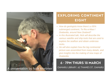 18.03.21 Public talk: EXPLORING CONTINENT EIGHT