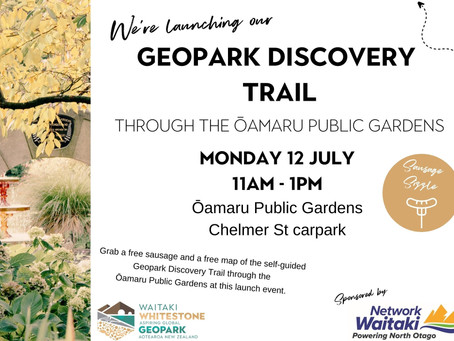 12.07.21: GEOPARK DISCOVERY TRAIL LAUNCH