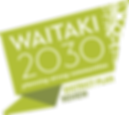 Waitaki 2030-district plan review logo