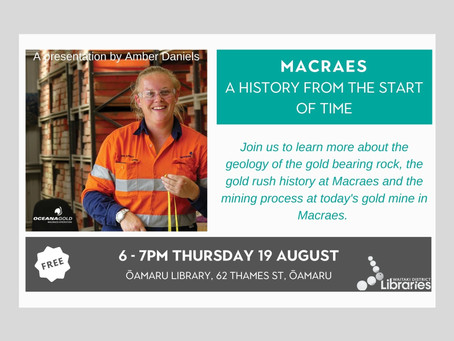 19.08.21 Public talk: MACRAES - A HISTORY FROM THE START OF TIME