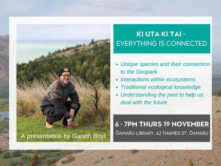 19.11.20 Public talk: KI UTA KI TAI - EVERYTHING IS CONNECTED