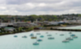 Oamaru harbour tilt shift.jpg