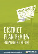 District Plan Review Engagement Report c