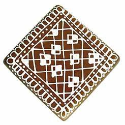 Baumschmuck Quadrat