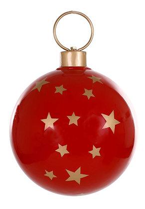 Weihnachtskugel Fiberglas