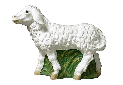 Krippenfigur Schaf