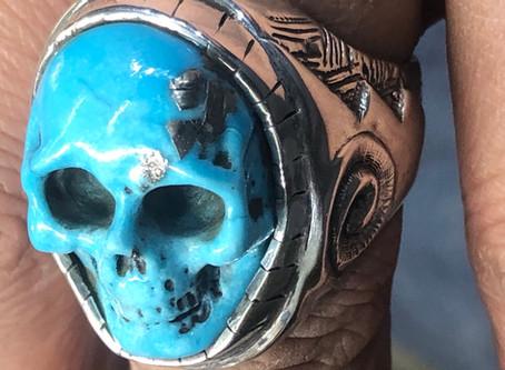 Finished a Custom Skull Ring