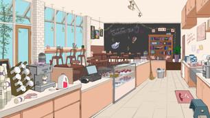 Cafe Scene, 2019