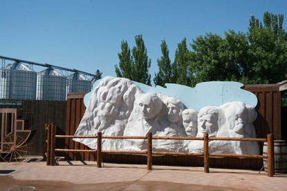 Plastic Mount Rushmore, 2020