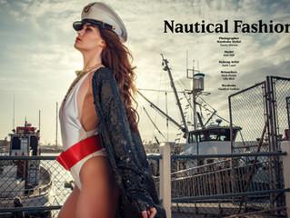 Nautical Fashion editorial for Salyse magazine