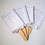 Thumbnail: Handmade Foiled Wedding Fans