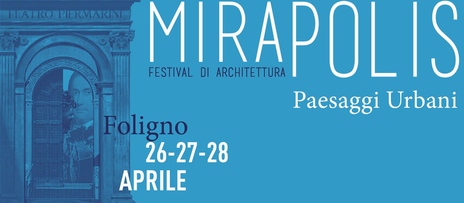 the 28th of April we will be presenting our work at MIRAPOLIS, Festival of Architecture