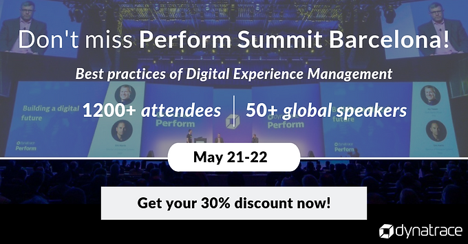 Join us at Perform Summit Barcelona!