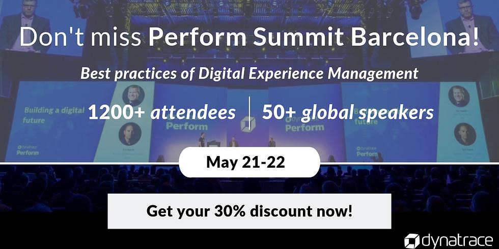 Perform Summit Barcelona