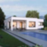 elk-bungalow-125-flachdach-vorderansicht