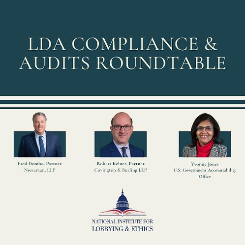LDA Compliance & GAO Audits