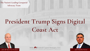 President Trump Signs Digital Coast Act into Law