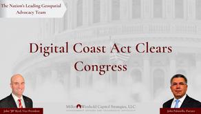 Digital Coast Act Clears Congress