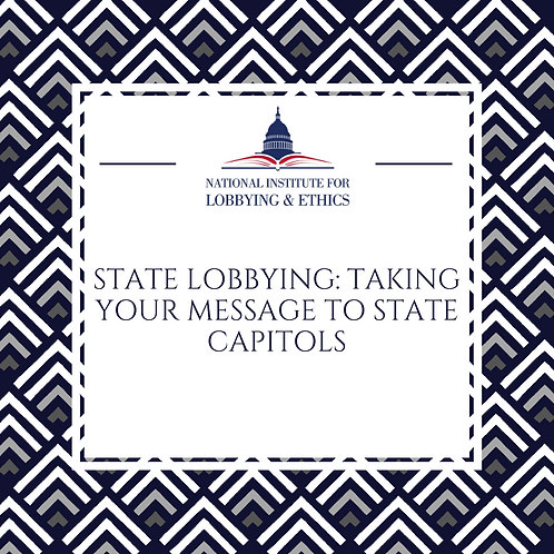 Taking Your Message to State Capitols