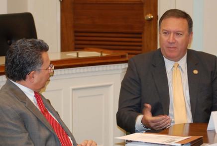 John Palatiello & Secretary of State Mike Pompeo