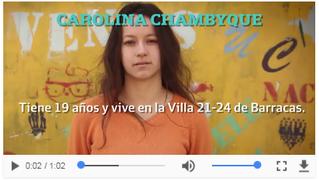 La historia de Carolina de #Barracas
