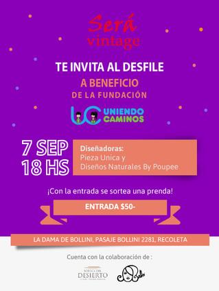 👗Desfile a #Beneficio de UC👗