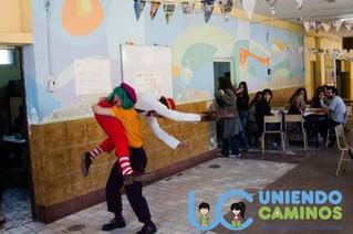 Taller de Circo en la 21.24 de #Barracas