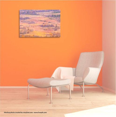 Ready to hang Wall Art - Photo Art  - The inspiring North