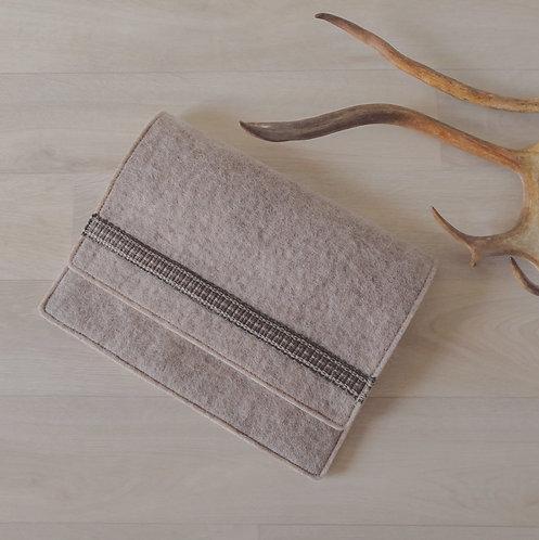 Tablet sleeve - earthy brown