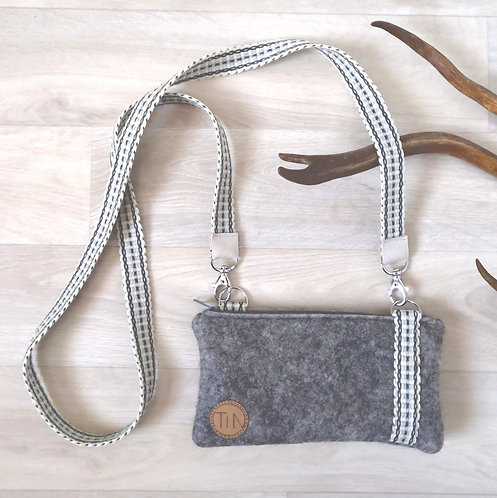 Phone bag - winter grey